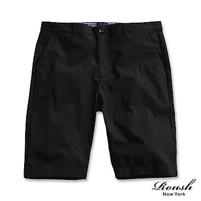 ROUSH 窄管時裝麻料短褲 (4色)
