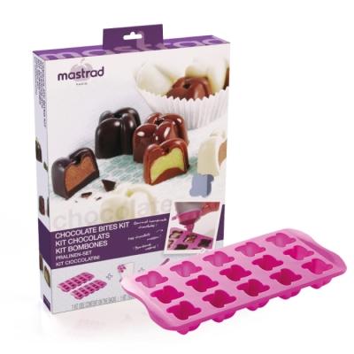 法國mastrad 巧克力模具禮盒組(紫) (8H)