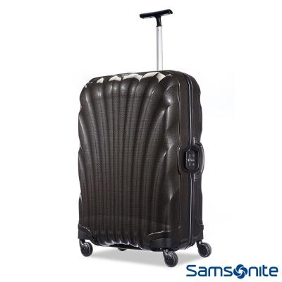 Samsonite新秀麗-25吋Lite-Locked極輕Curv四輪拉桿貝殼硬殼箱-黑