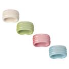 LE CREUSET 瓷器餐巾環組4入
