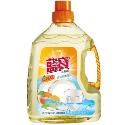 LION藍寶-洗碗精3000g-柑橙香