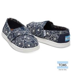 TOMS 日本紮染工藝懶人鞋-幼童款