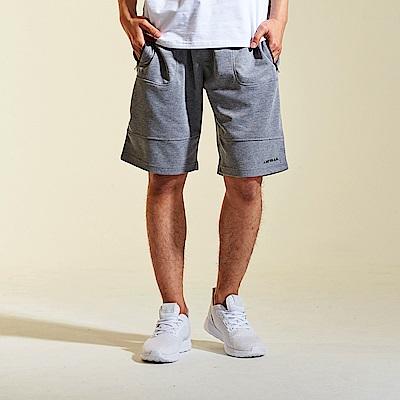 【AIRWALK】簡約休閒運動短褲-灰色