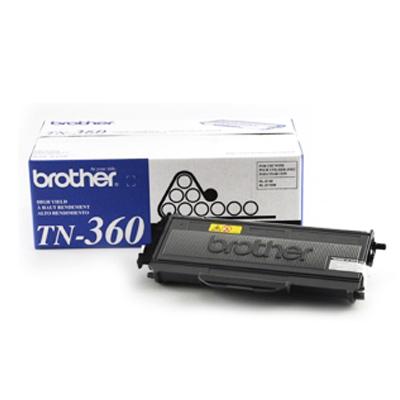 Brother TN-360 原廠高容量黑色碳粉匣(2600頁)
