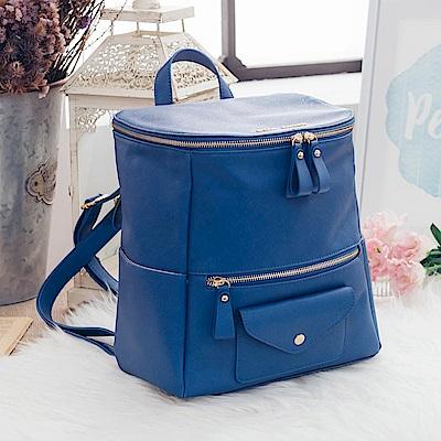MARC ROCOO-維也納愛戀信封後背包-125-蔚海藍