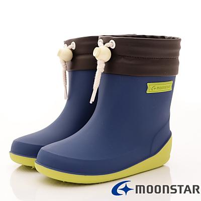 日本Carrot機能童鞋-日本製雨鞋款BB025藍(小童段)