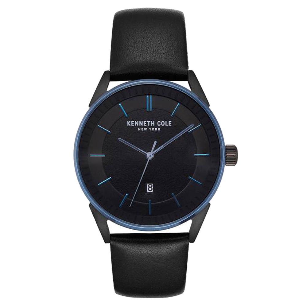 Kenneth Cole 悅簡時尚日期腕錶-KC50190005-41mm