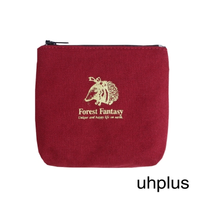 uhplus Forest Fantasy 奇幻森林小物包(刺蝟紅)