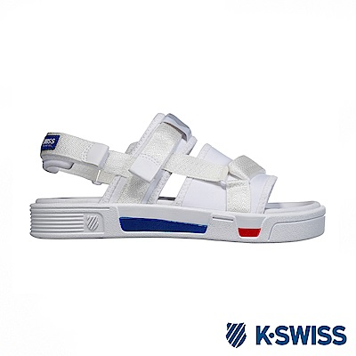 K-Swiss Trini Strap Sandal 休閒涼鞋-女-白/藍/紅