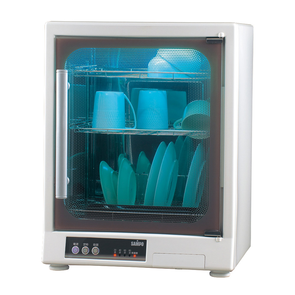 SAMPO聲寶三層光觸媒紫外線烘碗機 KB-GD65U