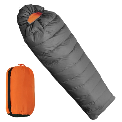 迪伯特DIBOTE 保暖質輕四季型100%天然水鳥羽毛睡袋 -快速到貨