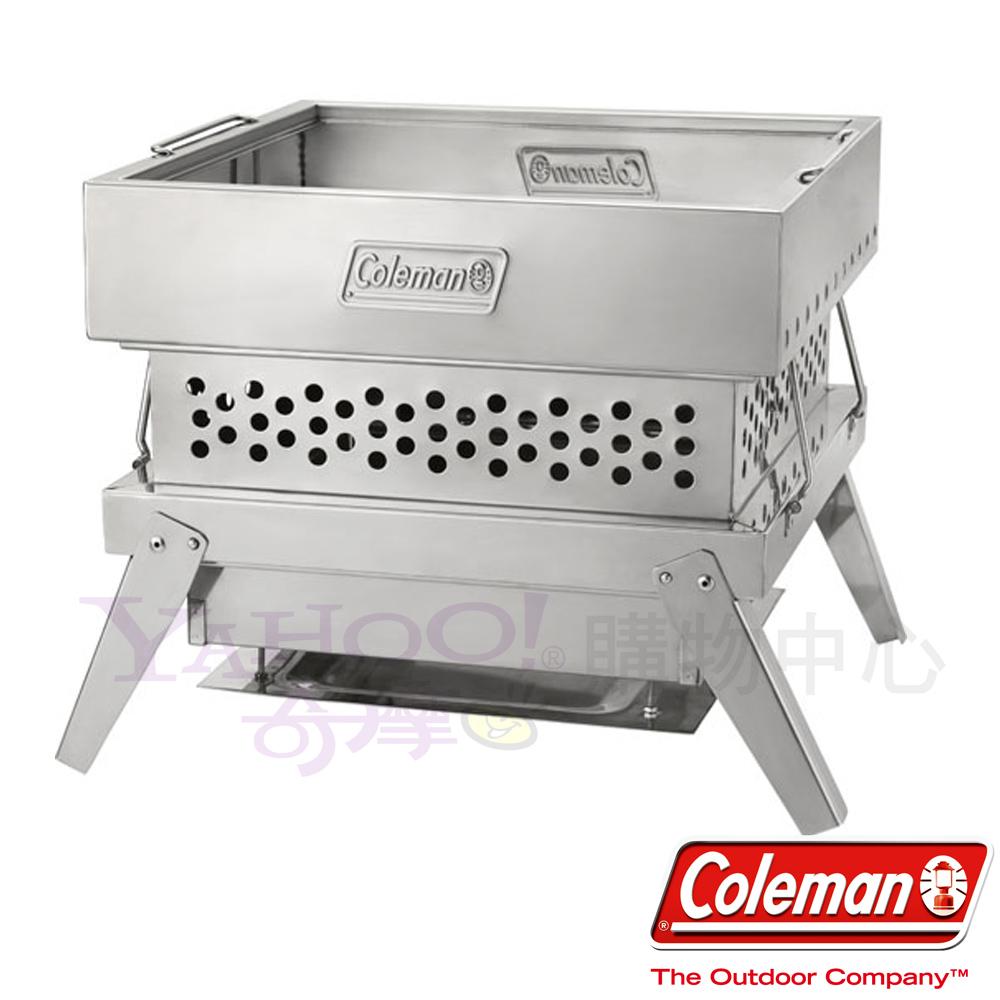 Coleman 0396 火蜘蛛 兩段式高度 可當作荷蘭鍋支架/烤肉架 ※附收納袋(公司貨)