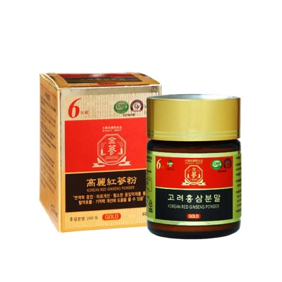 金蔘 6年根韓國高麗紅蔘粉(60gx1瓶)