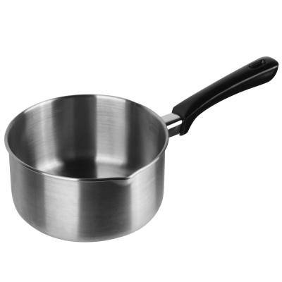 MoLiFun魔力坊 316不鏽鋼無鉚釘雪平鍋調理鍋-18cm適用電磁爐