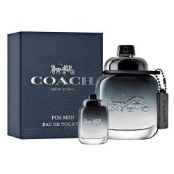 COACH 時尚經典男性淡香水40ml(贈品牌小香)