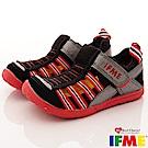 IFME健康機能鞋 排水速乾款 EI02030黑(小童段)
