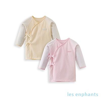 les enphants 嬰幼兒六條帶上衣(兩件組)(2色可選)