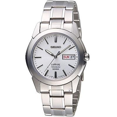 SEIKO精工卓越時尚鈦金屬腕錶(7N43-0AS0S)-38mm