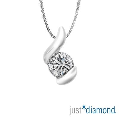 Just Diamond 19分18K金鑽墜-密語