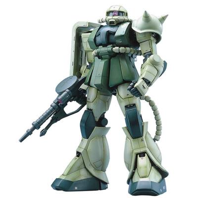 BANDAI GUNDAM鋼彈PG 1/60 MS-06F Zaku II 綠薩克