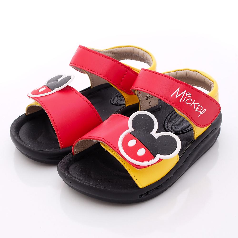 迪士尼童鞋-超輕量米奇柔軟涼鞋款-1463214紅(寶寶段)HN