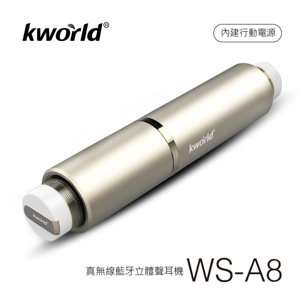 真無線 藍牙 立體聲 耳機 WS-A8 土豪金