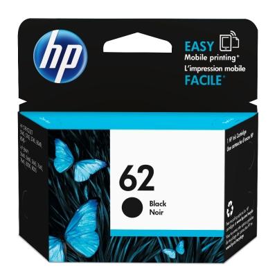 HP NO.62 原廠黑色墨水匣C2P04AA
