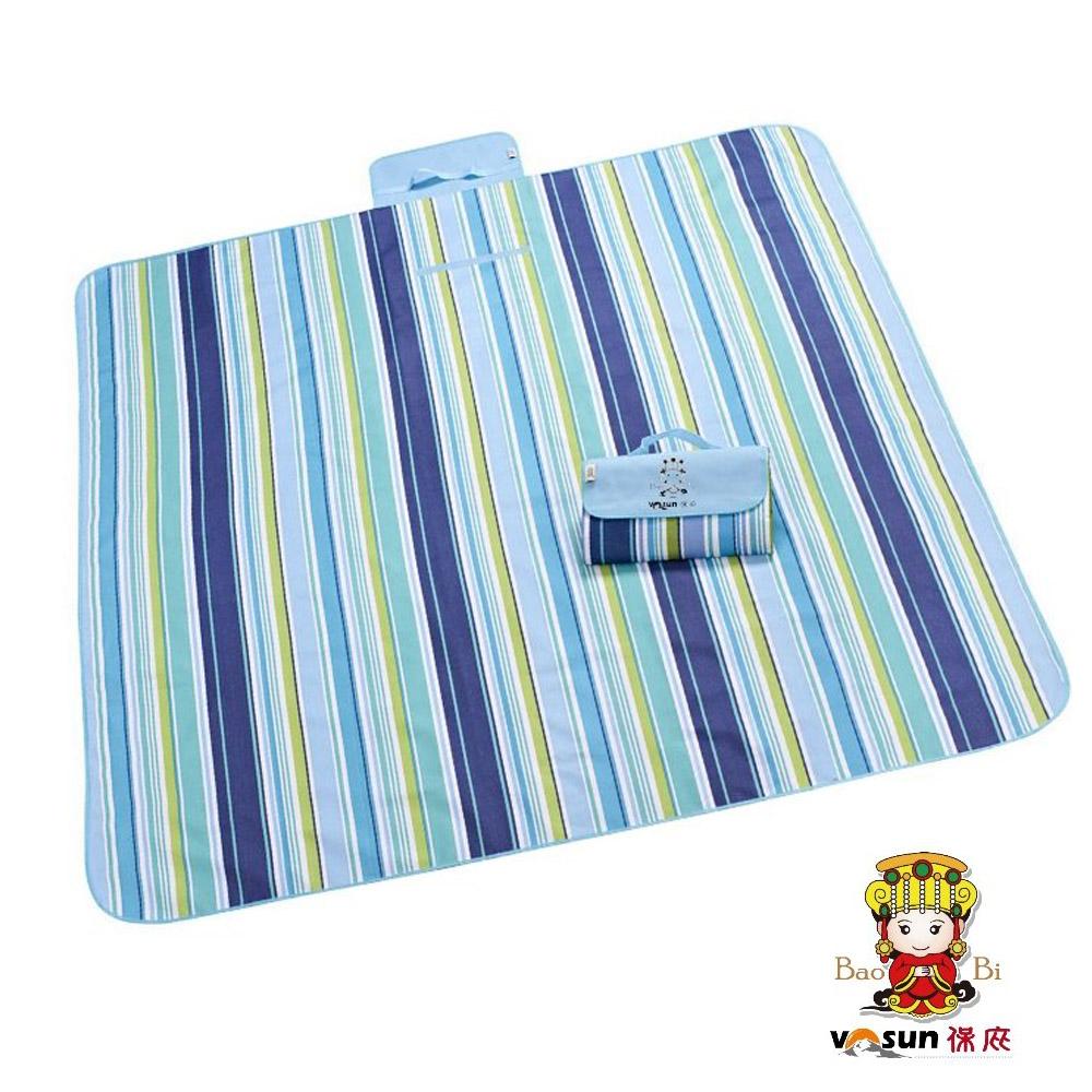 【VOSUN】環保防水防潮野餐墊 XL (媽祖限量 200x145cm)_藍色天空