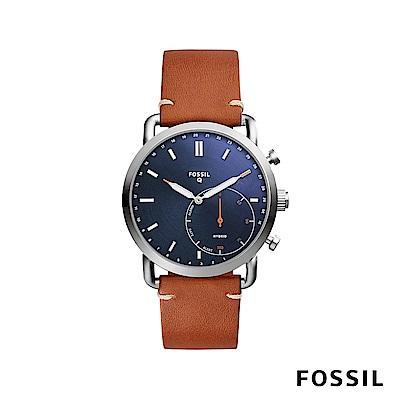 FOSSIL Q COMMUTER 智能錶-藍色
