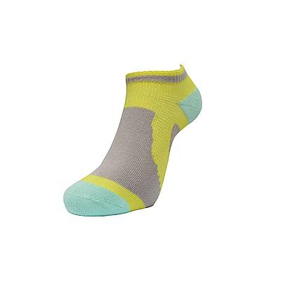 AREX SPOR 足弓支撐機能腳踏車襪-女-黃灰