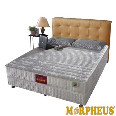 夢菲思 二線蓆面+布面冬夏兩用硬式彈簧床墊-單人3.5尺
