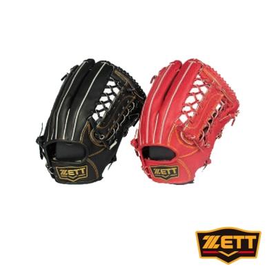 ZETT 3900系列全牛棒壘手套 野手通用 BPGT-3937