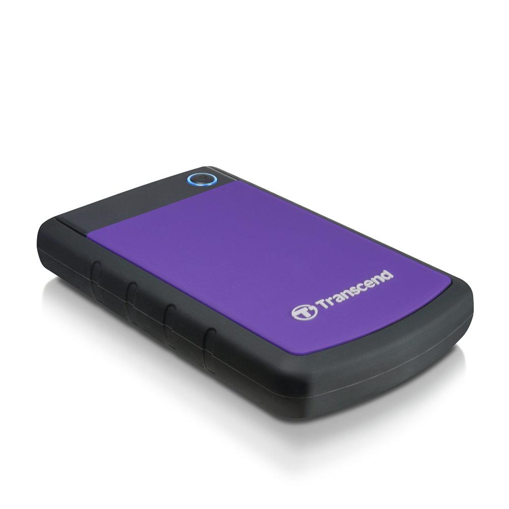 創見 2TB USB3.0 2.5吋防震行動硬碟 (StoreJet H3P)