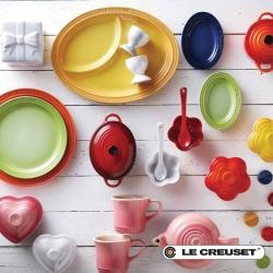 法國LE CREUSET瓷器、配件4折up