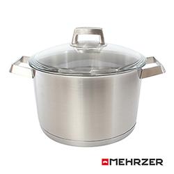 Mehrzer歐梅樂 不鏽鋼附蓋高湯鍋24cm