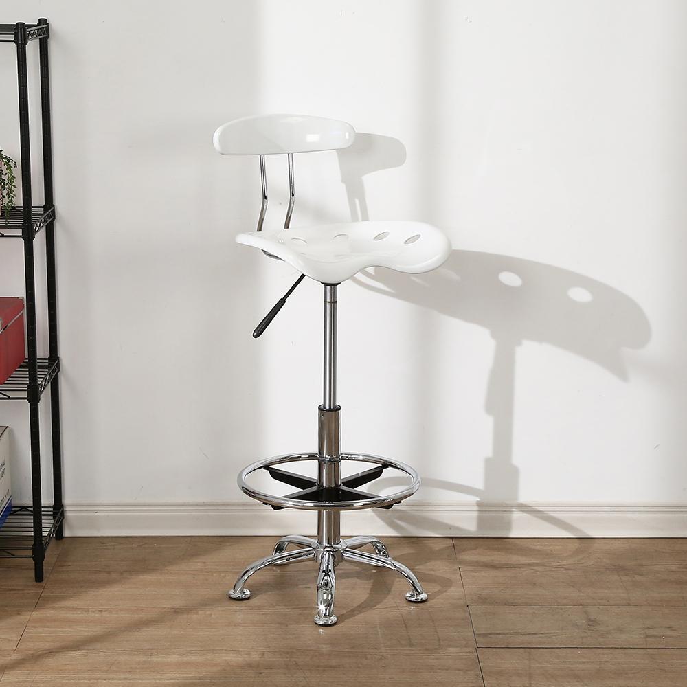 BuyJM曲線壓克力升降吧台椅/高腳椅-寬43x高103公分