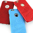 MARVEL iphone 6 plus / 6s plus 皮革壓紋手機殼