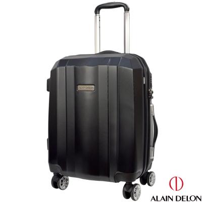 ALAIN DELON 亞蘭德倫 20吋榮耀傳奇系列旅行箱(黑)