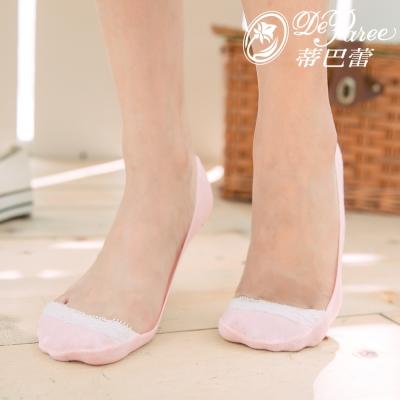 蒂巴蕾 淺口 蕾絲 超低止滑襪套