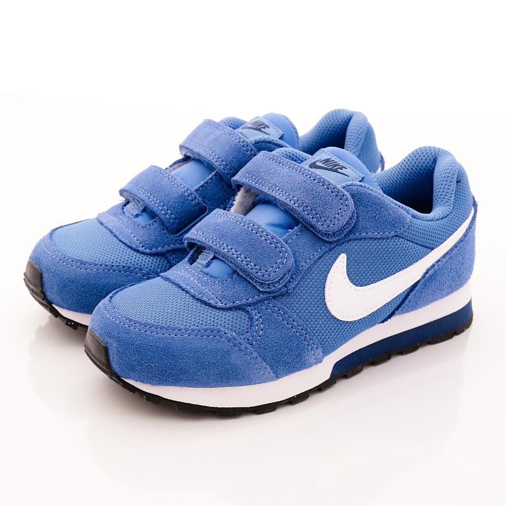 NIKE童鞋-雙絆帶慢跑款EI07317-406藍中小童段HN