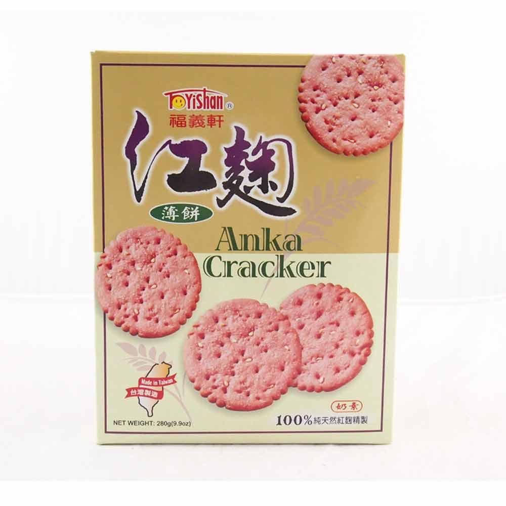 福義軒 紅麴薄餅(280gx2盒)