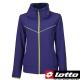 LOTTO 義大利-女 平織運動外套 (藍紫