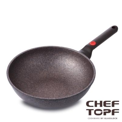 韓國 Chef Topf 崗石系列耐磨不沾炒鍋 28 公分