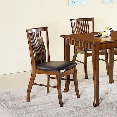 H&D 柚木色餐椅 (寬43X深46X高90cm)