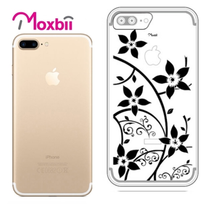 Moxbii iPhone 7 Plus 5.5吋 simpOcase光雕殼-花...