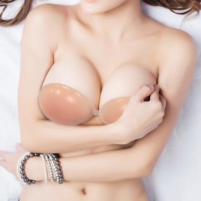 隱形胸罩 專櫃頂級月牙立體矽膠 I-shi