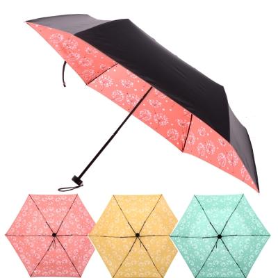 2mm 100%遮光 蒲公英黑膠輕量手開傘 (3色任選)