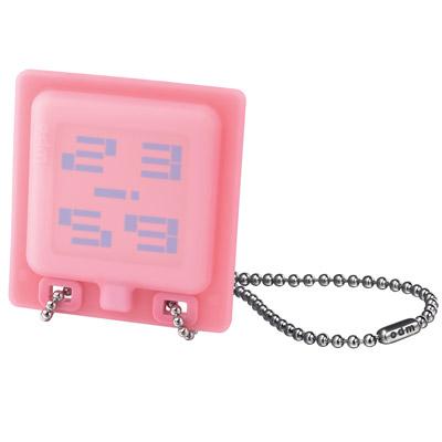 o.d.m. 時光看板個性潮流項鍊錶-粉紅/59mm