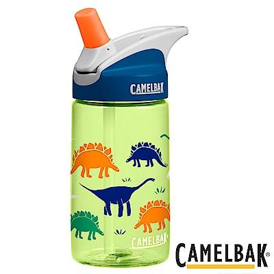 《CAMELBAK》兒童吸管運動水瓶 恐龍草原 400ml (CB1274310040)