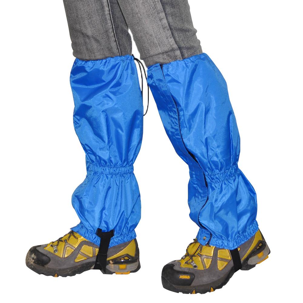 迪伯特DIBOTE拉鏈式登山防水綁腿腿套雪套-2色藍-急速配